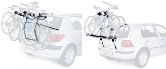 Boot Mounted Cycle Carriers