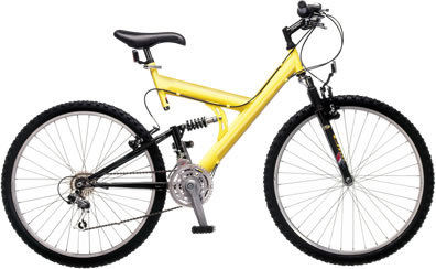 Basic Cheap Full Suspension Mountain Bikes